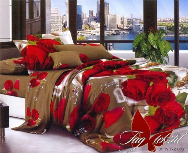 Комплект постельного белья XHY2166  ПОСТЕЛЬНОЕ БЕЛЬЕ ТМ TAG > Семейные > Поликоттон 3D