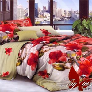 Комплект постельного белья XHY2167  ПОСТЕЛЬНОЕ БЕЛЬЕ ТМ TAG > Семейные > Поликоттон 3D