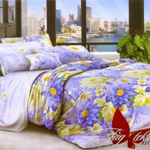 Комплект постельного белья XHY252  ПОСТЕЛЬНОЕ БЕЛЬЕ ТМ TAG > Евро > Поликоттон 3D