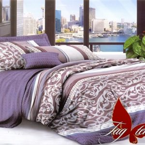 Комплект постельного белья XHY2811  ПОСТЕЛЬНОЕ БЕЛЬЕ ТМ TAG > Евро > Поликоттон 3D