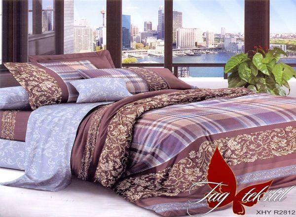 Комплект постельного белья XHY2812  ПОСТЕЛЬНОЕ БЕЛЬЕ ТМ TAG > Семейные > Поликоттон 3D