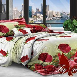 Комплект постельного белья XHY2841  ПОСТЕЛЬНОЕ БЕЛЬЕ ТМ TAG > Евро > Поликоттон 3D