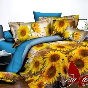 Комплект постельного белья XHY2842  ПОСТЕЛЬНОЕ БЕЛЬЕ ТМ TAG > Семейные > Поликоттон 3D