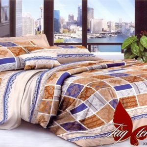 Комплект постельного белья XHY2845  ПОСТЕЛЬНОЕ БЕЛЬЕ ТМ TAG > 2-спальные > Поликоттон 3D