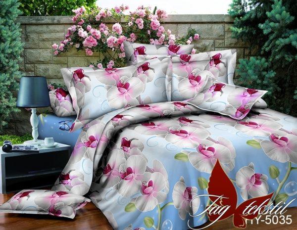 Комплект постельного белья XHY5035  ПОСТЕЛЬНОЕ БЕЛЬЕ ТМ TAG > Семейные > Поликоттон 3D