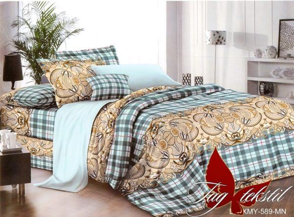 Комплект постельного белья XHY589  ПОСТЕЛЬНОЕ БЕЛЬЕ ТМ TAG > Семейные > Поликоттон 3D