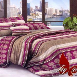 Комплект постельного белья XHY818  ПОСТЕЛЬНОЕ БЕЛЬЕ ТМ TAG > Евро > Поликоттон 3D