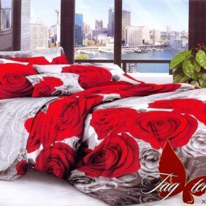 Комплект постельного белья XHY891  ПОСТЕЛЬНОЕ БЕЛЬЕ ТМ TAG > Евро > Поликоттон 3D