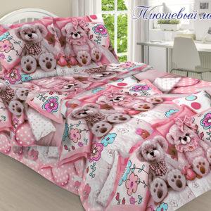 Плюшевый мишка  ПОСТЕЛЬНОЕ БЕЛЬЕ И ТОВАРЫ ДЛЯ ДЕТЕЙ > 1.5-спальные