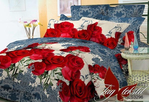 Комплект постельного белья BR3296  ПОСТЕЛЬНОЕ БЕЛЬЕ ТМ TAG > Евро > Поликоттон 3D