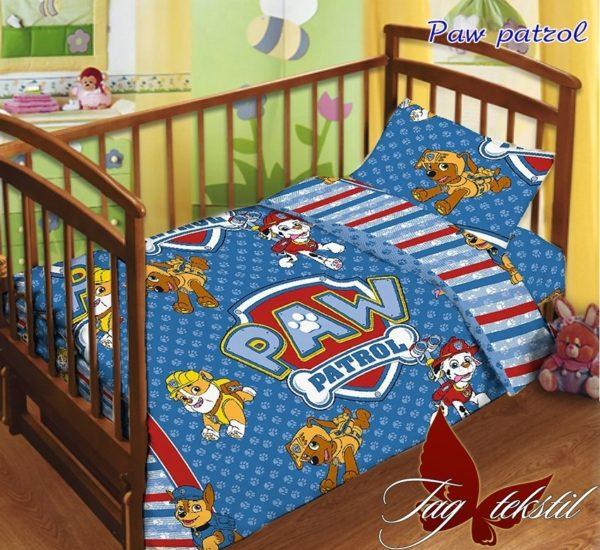 Детский комплект Paw patrol  ПОСТЕЛЬНОЕ БЕЛЬЕ И ТОВАРЫ ДЛЯ ДЕТЕЙ > В кроватку