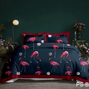 Комплект постельного белья PS-B035  ПОСТЕЛЬНОЕ БЕЛЬЕ ТМ TAG > Семейные > Полисатин 3D