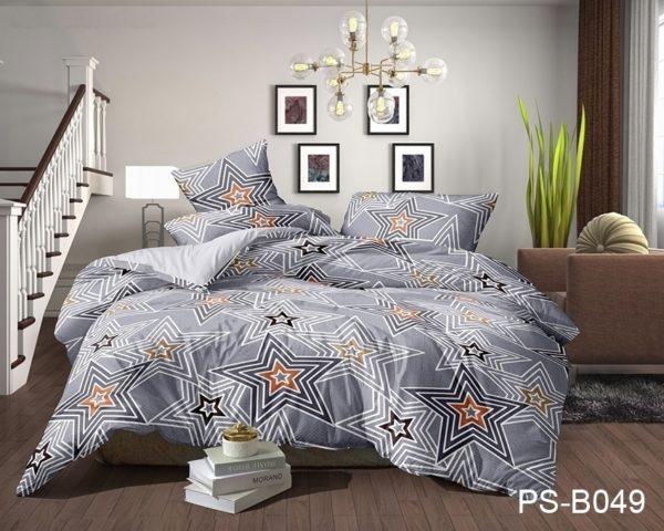 Комплект постельного белья PS-B049  ПОСТЕЛЬНОЕ БЕЛЬЕ ТМ TAG > Семейные > Полисатин 3D