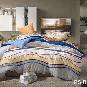 Комплект постельного белья PS-B187  ПОСТЕЛЬНОЕ БЕЛЬЕ ТМ TAG > Семейные > Полисатин 3D