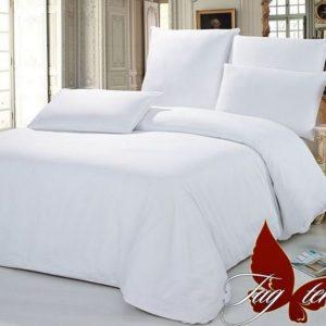 Комплект постельного белья Белый  ПОСТЕЛЬНОЕ БЕЛЬЕ ТМ TAG > 2-спальные > Ренфорс