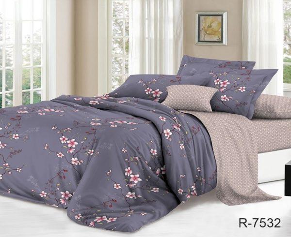 Комплект постельного белья с компаньоном R7532  ПОСТЕЛЬНОЕ БЕЛЬЕ ТМ TAG > 2-спальные > Ренфорс