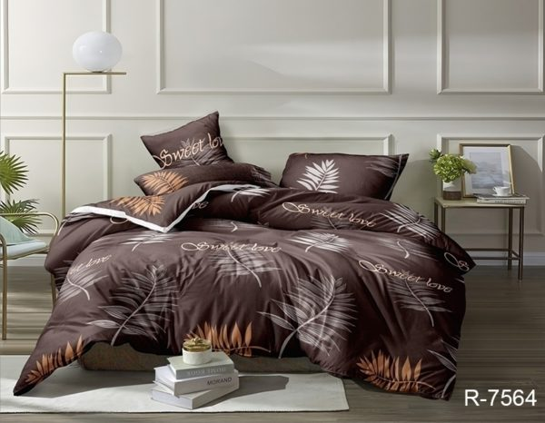 Комплект постельного белья R7564  ПОСТЕЛЬНОЕ БЕЛЬЕ ТМ TAG > 2-спальные > Ренфорс