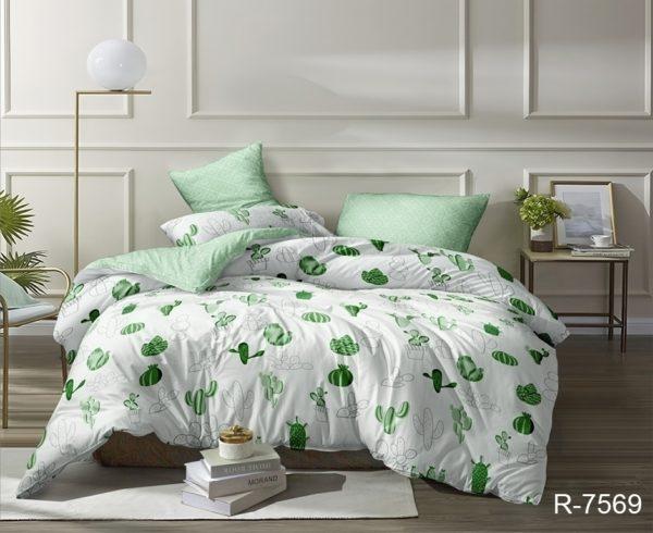 Комплект постельного белья с компаньоном R7569  ПОСТЕЛЬНОЕ БЕЛЬЕ ТМ TAG > 2-спальные > Ренфорс