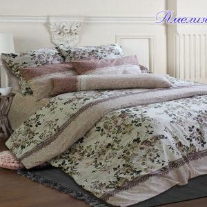 Комплект постельного белья Амелия  ПОСТЕЛЬНОЕ БЕЛЬЕ ТМ TAG > 1.5-спальные > Ренфорс