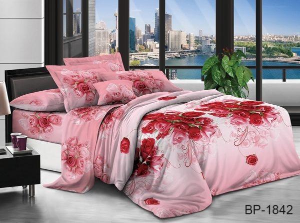 Комплект постельного белья BP1842  ПОСТЕЛЬНОЕ БЕЛЬЕ ТМ TAG > 2-спальные > Поликоттон 3D