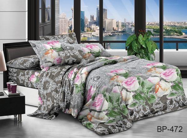 Комплект постельного белья BP472  ПОСТЕЛЬНОЕ БЕЛЬЕ ТМ TAG > 2-спальные > Поликоттон 3D