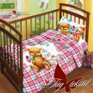 Детский комплект Детство  ПОСТЕЛЬНОЕ БЕЛЬЕ И ТОВАРЫ ДЛЯ ДЕТЕЙ > В кроватку
