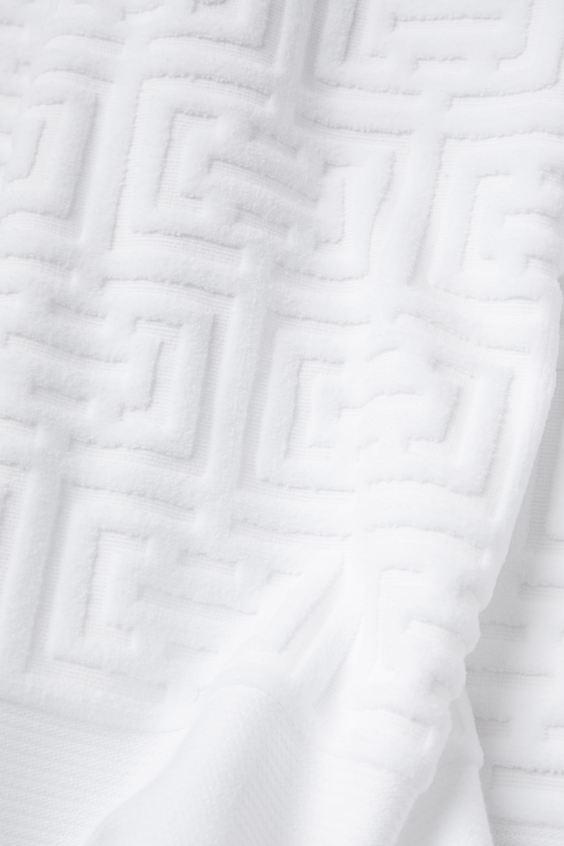 Полотенце махровое Labirint белое 30х50 1 Постельный комплект