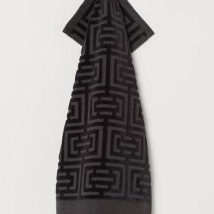 Полотенце махровое Labirint черное 30х50  Полотенца > 40*70 от 1 ед