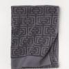 Полотенце махровое Labirint серое 70х140 4 Постельный комплект