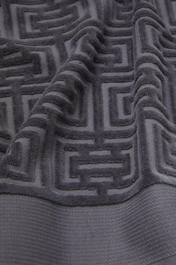 Полотенце махровое Labirint серое 70х140 2 Постельный комплект