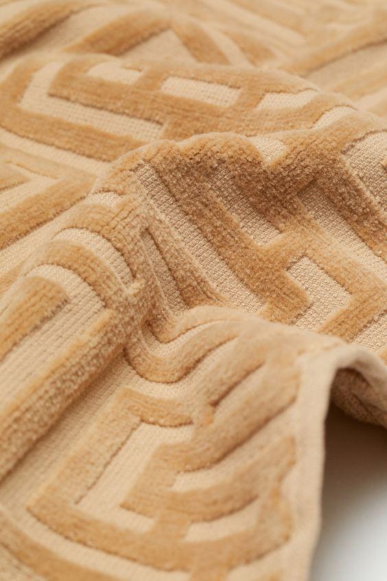 Полотенце махровое Labirint капучино 100х150 1 Постельный комплект