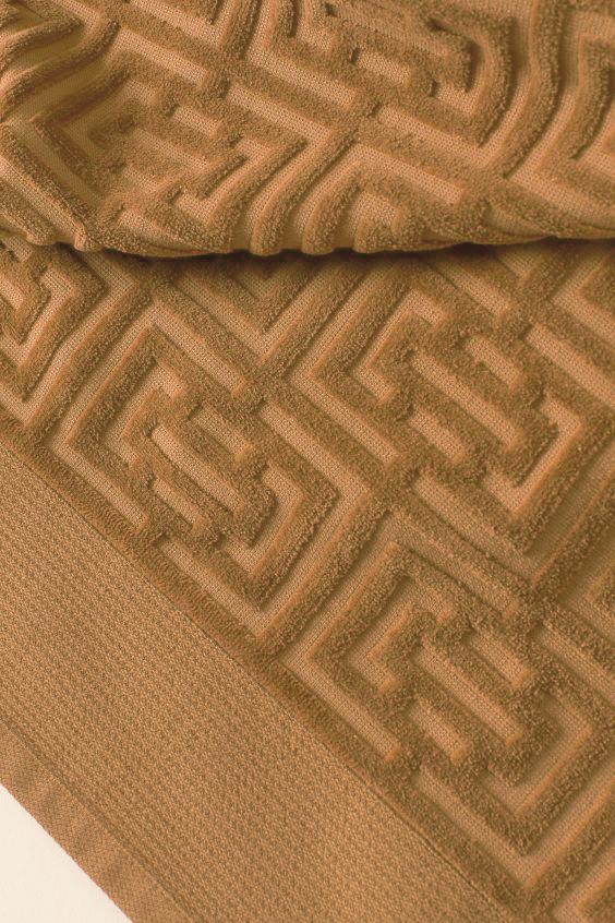 Полотенце махровое Labirint темн.беж. 100х150 1 Постельный комплект