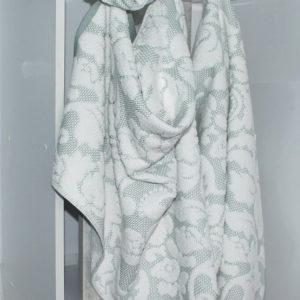 Полотенце жаккард Nanette зеленое  Полотенца > 70*140 от 1 ед