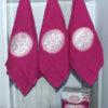 Набор полотенец Lovely розов. (3 шт)  Полотенца > Наборы полотенец