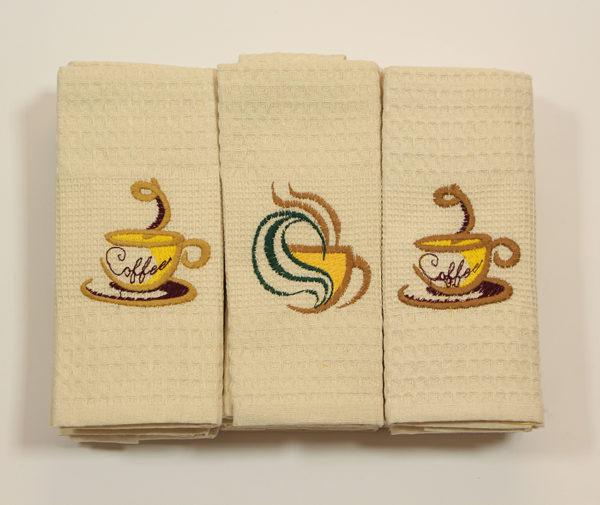 Набор полотенец Кофе (12 шт) 2 Постельный комплект