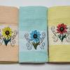 Набор полотенец Цветок 2 (6 шт) 2 Постельный комплект