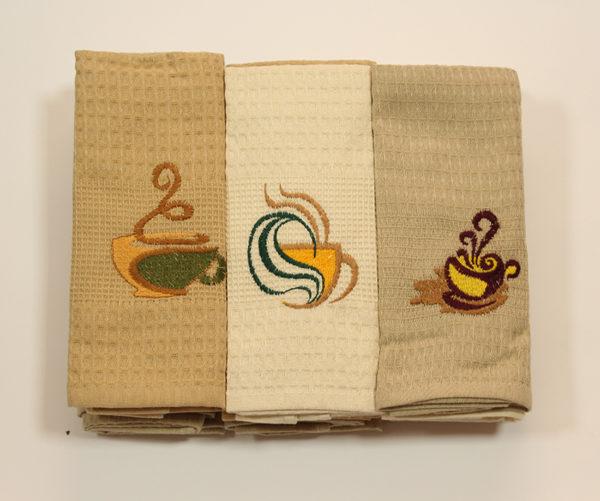 Набор полотенец Кофе (12 шт) 1 Постельный комплект