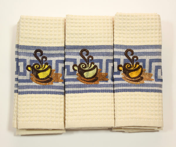 Набор полотенец Чашка (6 шт) 1 Постельный комплект