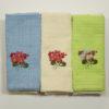 Набор полотенец Цветы в ассорт. (12 шт) 3 Постельный комплект