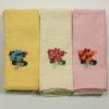 Набор полотенец Цветы в ассорт. (12 шт) 4 Постельный комплект