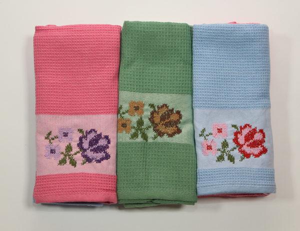 Набор полотенец Букет в ассорт. (6 шт) 3 Постельный комплект