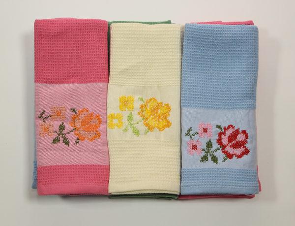 Набор полотенец Букет в ассорт. (6 шт) 1 Постельный комплект