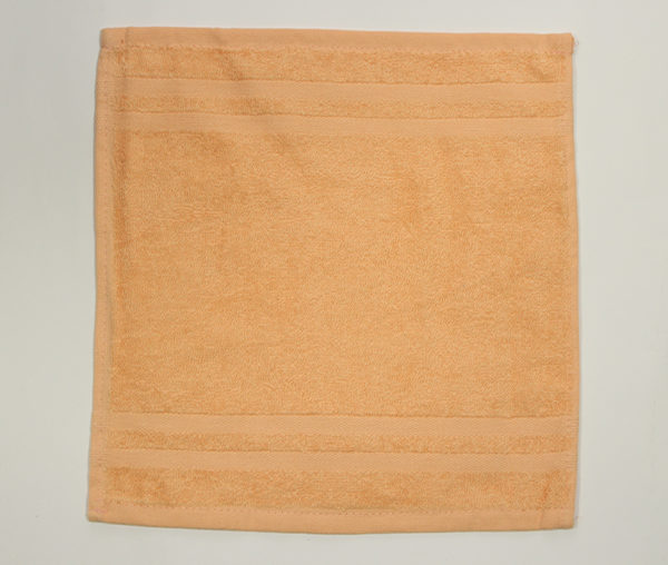 Полотенце 30х30 Желтое (1 шт) 1 Постельный комплект