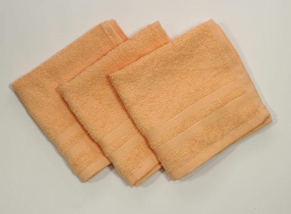 Полотенце 30х30 Желтое (1 шт)  Кухонные полотенца