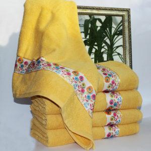Полотенце махровое Весна желтое 50х90  Полотенца > 50*90 от 1 ед