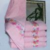 Полотенце махровое Весна розовое цветы 70х140  Полотенца > 70*140 от 1 ед