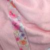 Полотенце махровое Весна розовое цветы 70х140 3 Постельный комплект