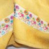 Полотенце махровое Весна желтое 50х90 3 Постельный комплект