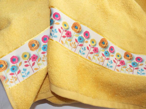 Полотенце махровое Весна желтое 70х140 1 Постельный комплект