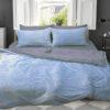 Комплект постельного белья зима-лето Light blue  ПОСТЕЛЬНОЕ БЕЛЬЕ ТМ TAG > 2-спальные > Зима-лето